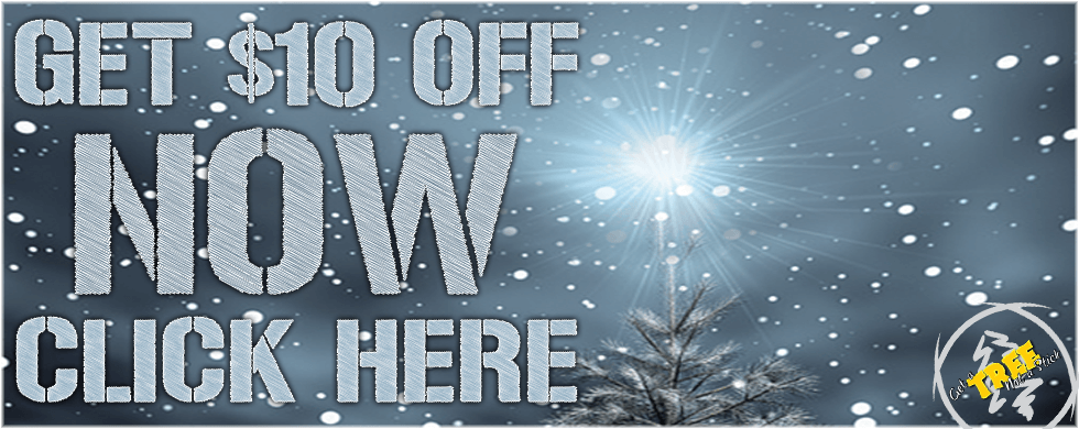 Get $10 off Your Christmas Tree at CreekSide